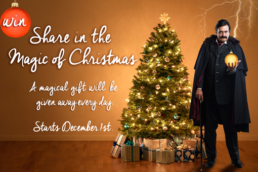 Share in the Magic of Christmas on QPAC Facebook