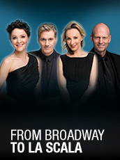 QPAC - From Broadway to La Scala - Concert Hall, QPAC - Tickets & Dining Packages