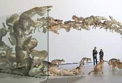 Cai Guo-Qiang: Falling Back to Earth