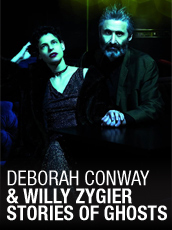 QPAC - Deborah Conway / Willy Zygier Stories of Ghosts - Concert Hall, Reverse Mode, QPAC, Brisbane - Tickets & Dining Packages