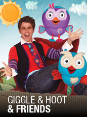 QPAC - Giggle and Hoot & Friends  - Playhouse, QPAC, Brisbane - Tickets & Packages