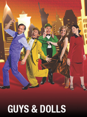 QPAC - Guys and Dolls - Concert Hall, QPAC, Brisbane - Tickets & Dining Packages
