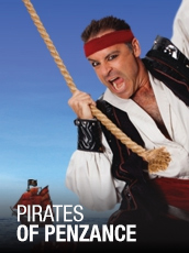 QPAC - Pirates of Penzance - Concert Hall, QPAC - Tickets & Dining Packages
