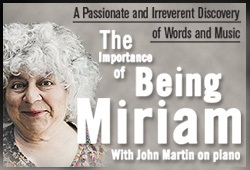The Importance of Being Miriam