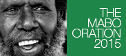 The Mabo Oration 2015