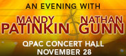 An Evening with Mandy Patinkin and Nathan Gunn