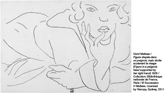 Line Drawing By Matisse : Matisse drawing life gallery of modern art stanley