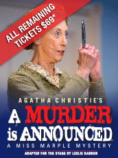 QPAC - A Murder is Announced - Playhouse, QPAC, Brisbane - Tickets & Packages
