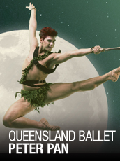 QPAC - QB's Peter Pan - Playhouse, QPAC - Tickets & Packages