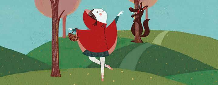 little red riding hood cartoon movie № 261199
