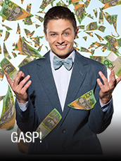 QPAC - Gasp! - Playhouse, QPAC - Tickets & Packages