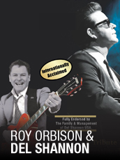 QPAC - Roy Orbison and Del Shannon – 50th Anniversary - Concert Hall, QPAC, Brisbane - Tickets & Dining Packages