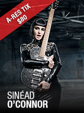 QPAC - Sinead O'Connor - I'm Not Bossy I'm The Boss - Concert Hall, QPAC - Tickets & Dining Packages