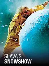 QPAC - Slava's Snowshow - Lyric Theatre, QPAC, Brisbane - Tickets & Dining Packages