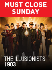 QPAC - The Illusionists 1903 - Concert Hall, QPAC - Tickets & Dining Packages