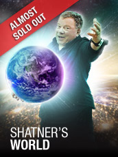 QPAC - Shatner's World - Concert Hall, QPAC - Tickets & Dining Packages
