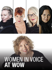 QPAC - Women in Voice at WOW - Concert Hall, QPAC - Tickets & Dining Packages