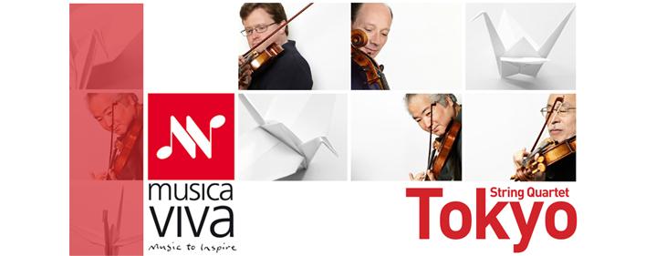 Musica Viva Australia - Tokyo String Quartet - Conservatorium Theatre, Griffith University, South Bank, Brisbane - Tickets