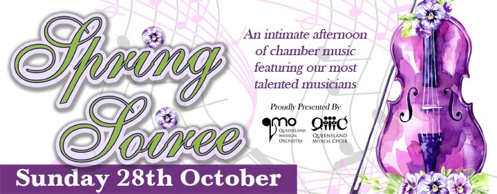Spring Soiree - Ian Hanger Recital Hall, Griffith University, South Bank, Brisbane - Tickets
