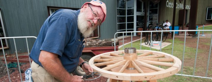 Wheelwrighting 5 Day Project   - Cobb+Co Museum, Toowoomba - Tickets