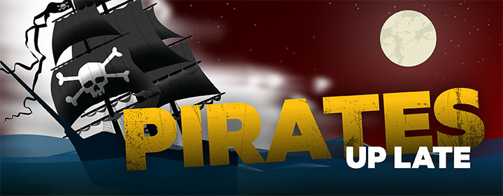 Pirates Up Late - Museum of Tropical Queensland, Townsville - Tickets
