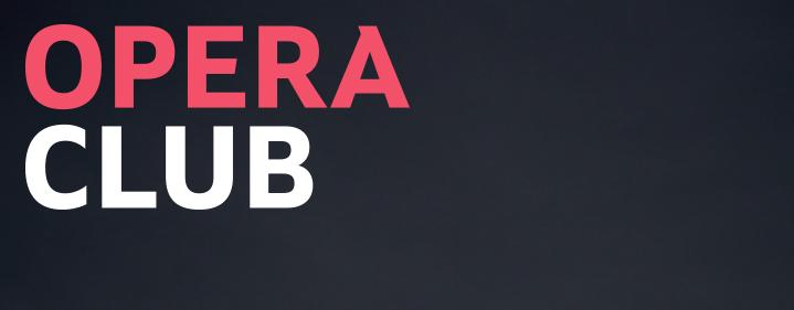 Opera Club - Opera Queensland - Tickets
