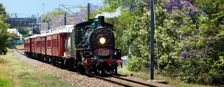 Steam Train Sunday - Roma Street Train Station, Brisbane - Tickets